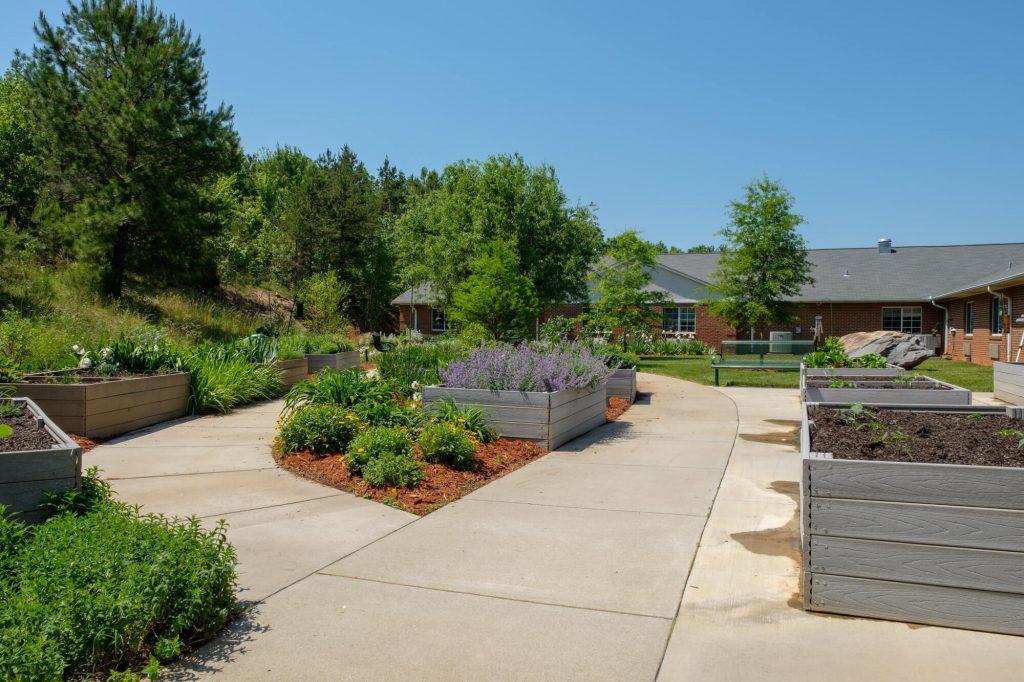 Outdoor Gardening Area